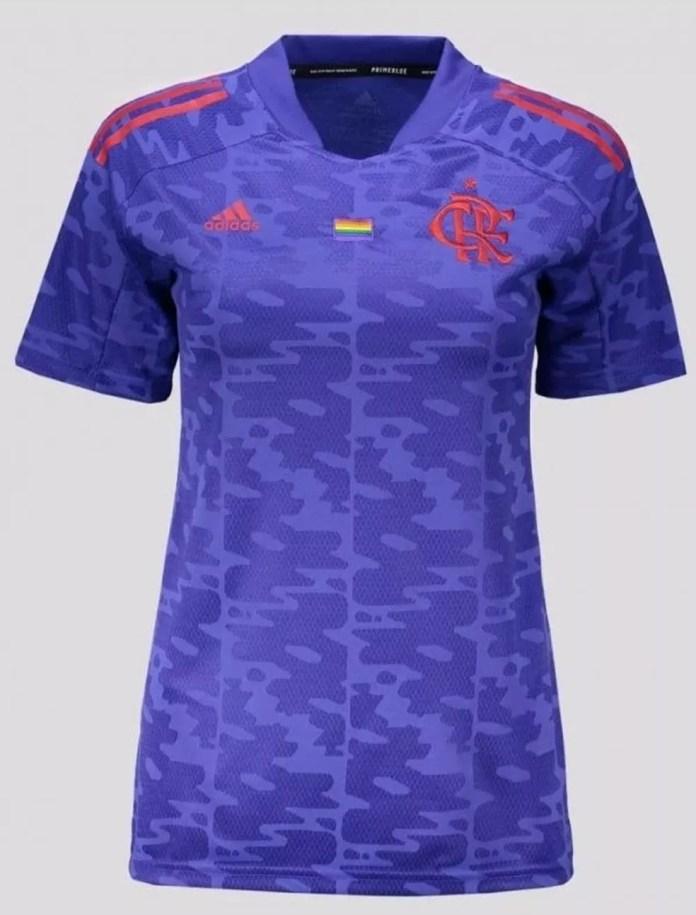 Camisa Flamengo LGBTQIA+ — Foto: Reprodução