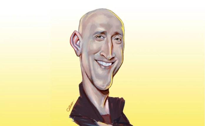 Quinho faz homenagem a Paulo Gustavo — Foto: Quinho/Associação dos Cartunistas do Brasil