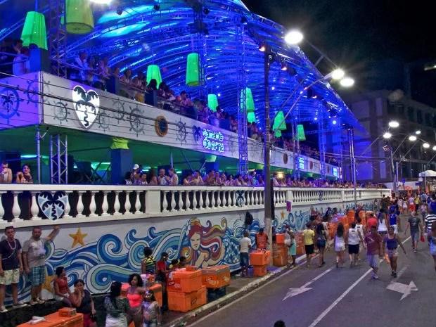 Frente do Camarote do Nana no carnaval de Salvador em 2015 (Foto: Divulgação/ Camarote do Nana)