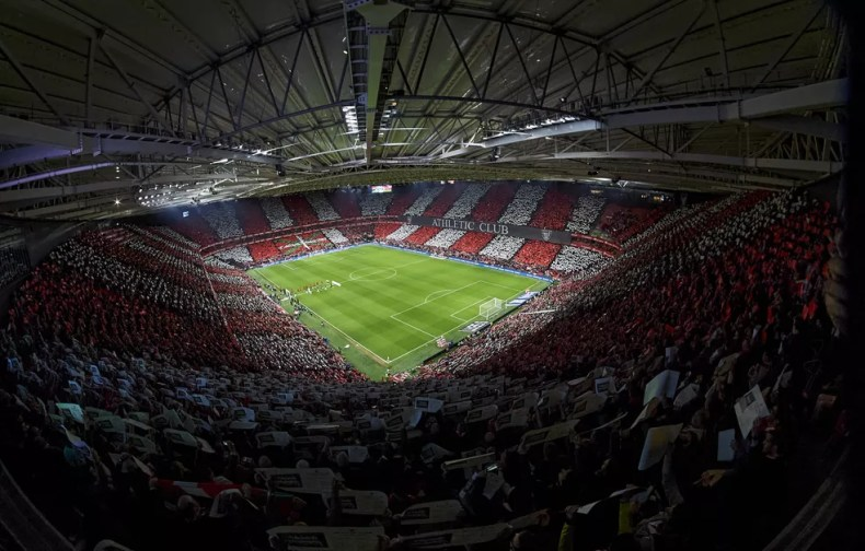 Estádio San Mamés, do Athletic Bilbao — Foto: Getty Images