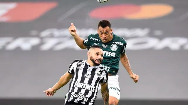 Breno Lopes faz o gol do título do Palmeiras