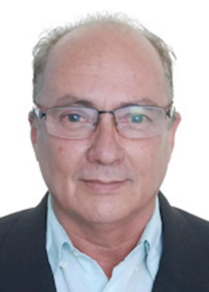 Eron Domingos, candidato a prefeito pelo PRTB — Foto: Divulgação/TSE