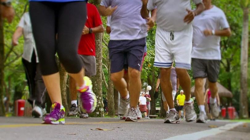Atividade física é uma das formas de combater a diabetes tipo 2 (Foto: Reprodução/TV Globo)