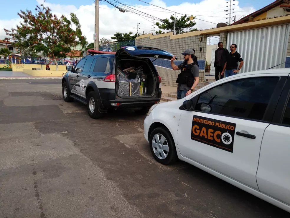 Polícia Civil e MPMA cumpriram dez mandados por esquema de falsificação de documentos para recebimento de emendas parlamentares de São Luís — Foto: Divulgação / Polícia Civil