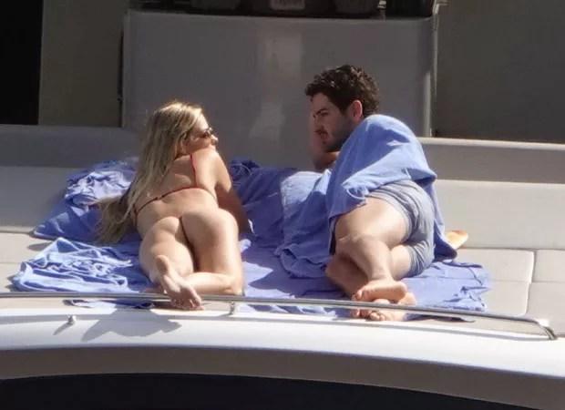 Alexandre Pato e Danielle Knudson (Foto: The Grosby Group)