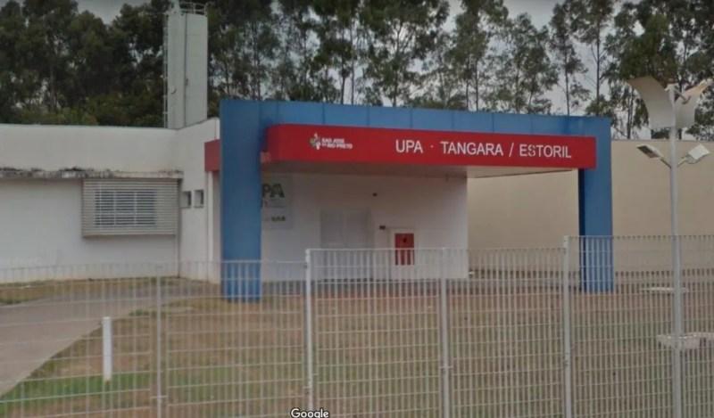 Unidade de Pronto Atendimento Tangará, em Rio Preto — Foto: Reprodução