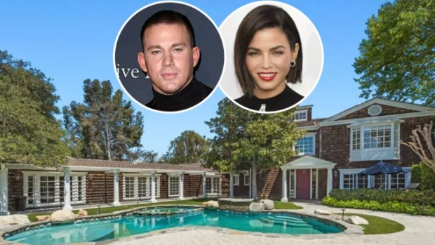 After separation, Channing Tatum and his ex sell mansion for R$ 30.5 million (Photo: Disclosure and Getty Images)
