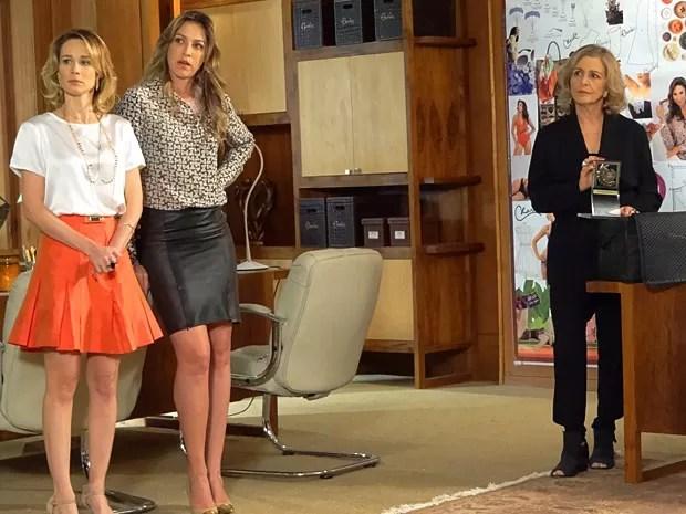 Charlô nega a proposta de Felipe (Foto: Guerra dos Sexos / TV Globo)
