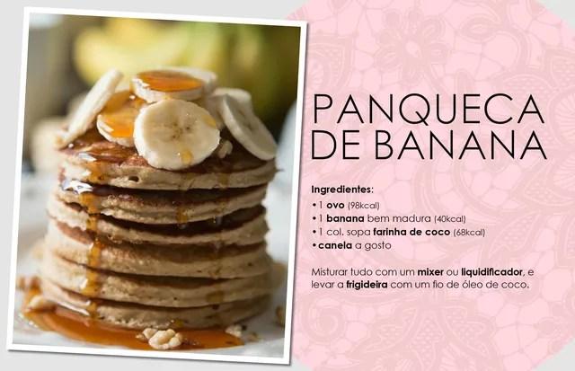 Panqueca de banana (Foto: Arte Vogue Online)