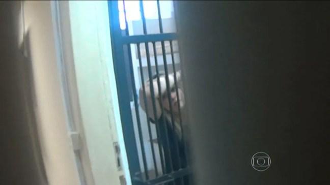 Lidiane Leite ficou presa em São Luís — Foto: Reprodução/TV Mirante