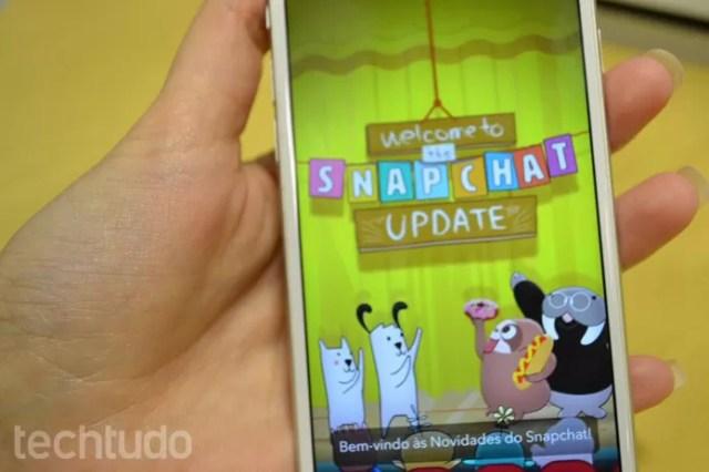 Snapchat muda visual para 'estilo revista' e ganha emojis em português