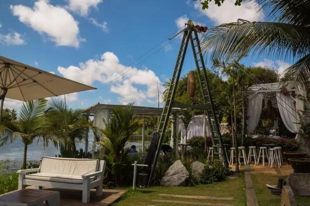 Casa de festas onde a ex-BBB Munik vai casar (Foto: colossolakelounge / divulgação)