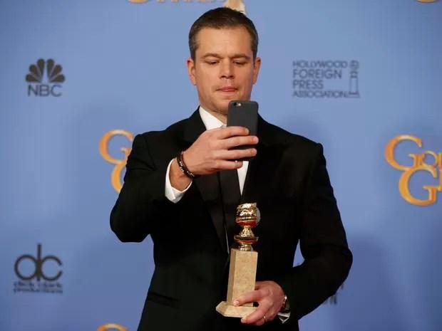 Matt Damon ganha o Globo de Ouro de melhor ator de comédia ou musical (Foto: REUTERS/Lucy Nicholson)