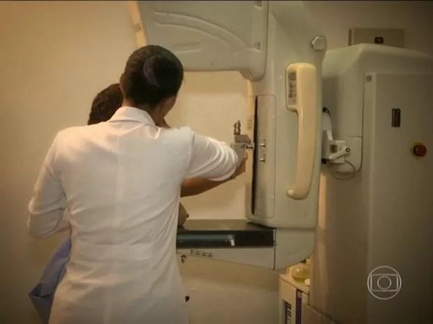 mamografia jornal hoje (Foto: TV Globo)