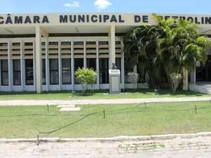 Câmara de vereadores de Petrolina (Foto: Amanda Franco/ G1)