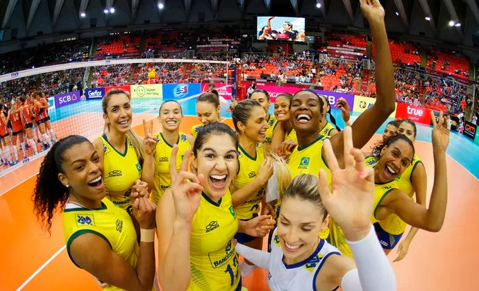 Brasil Holanda Grand Prix vôlei (Foto: Divulgação/FIVB)