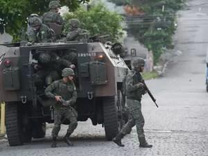 De acordo com o Ministério da Defesa, a Força de Pacificação atuará até o dia 31 de julho  (Foto: Erbs Jr./Estadão Conteúdo)