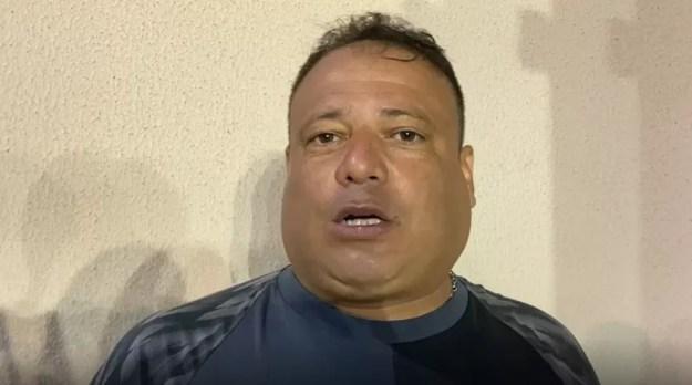 Fernando Alves comandou o CRB contra o Aliança — Foto: Reprodução/CRB