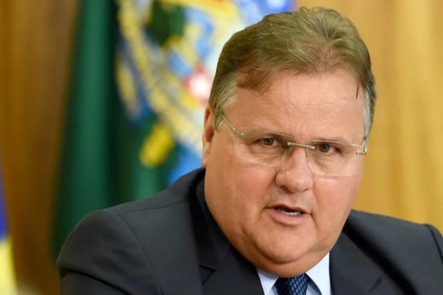 O ex-ministro Geddel Vieira Lima em imagem de maio de 2016 (Foto: Evaristo Sa / Arquivo / AFP Photo)