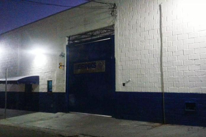 Sede da Brinks em Juiz de Fora (MG) (Foto: Fellype Alberto/G1)