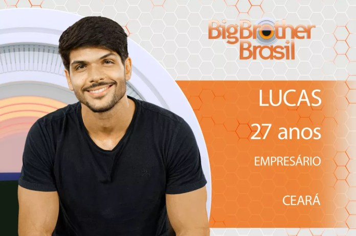 Lucas está no 'BBB18' (Foto: Divulgação)
