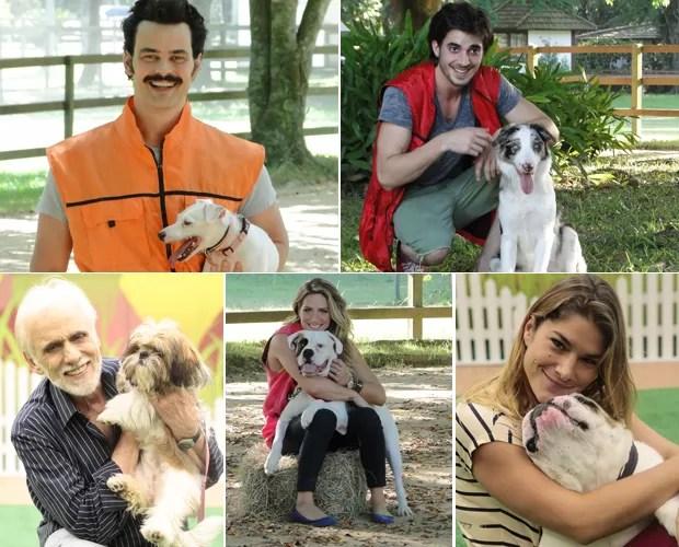 """Cachorrada VIP estreia neste domingo, no """"Faustão"""" (Foto: Domingão do Faustão / TV Globo)"""