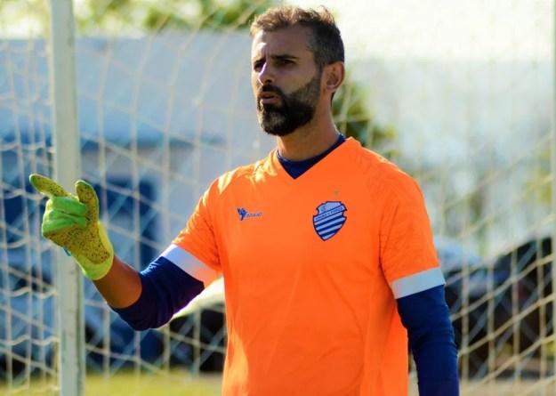 Bruno Grassi vai jogar contra o Confiança — Foto: Augusto Oliveira/ASCOM CSA