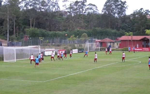 São Paulo treino (Foto: Carlos Augusto Ferrari)