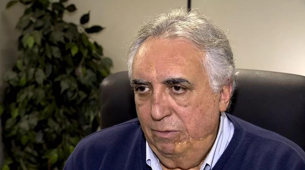 O secretário de Saúde, Cármino de Souza (Foto: Reprodução / EPTV)
