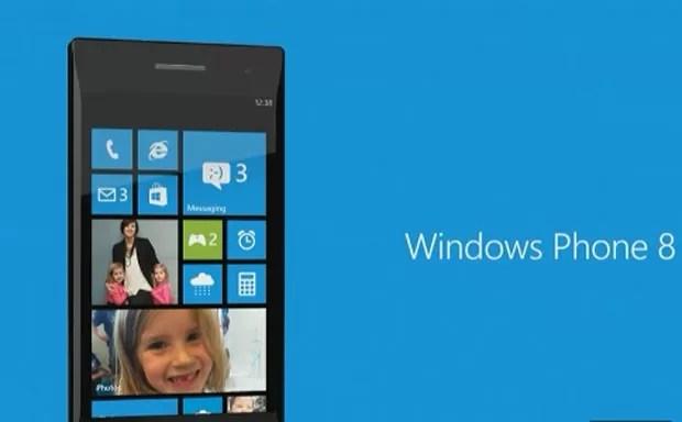 Microsoft apresentou o sistema operacional Windows 8 para smartphones em evento nos EUA (Foto: Reprodução)
