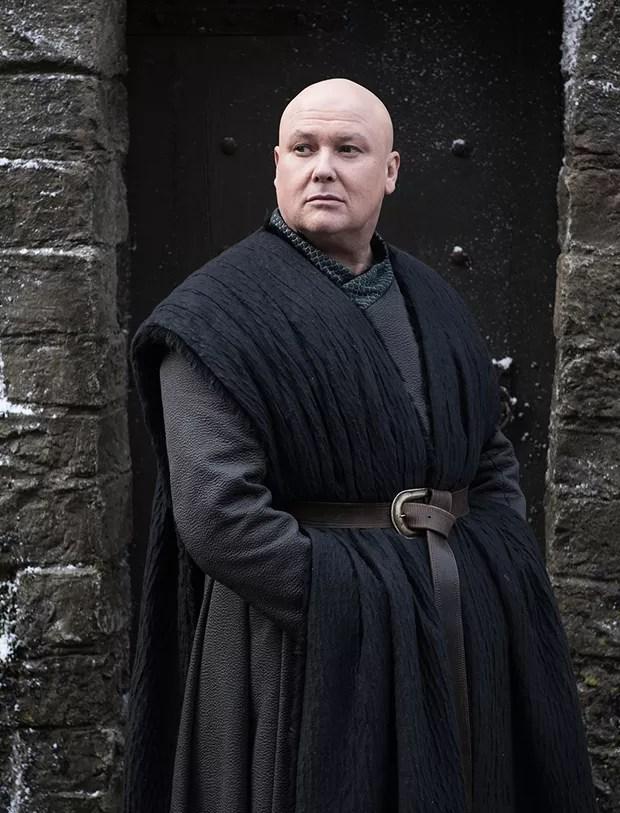 Varys (Conleth Hill) em cena da última temporada de Game of Thrones (Foto: Dilvulgação/HBO/Helen Sloan)