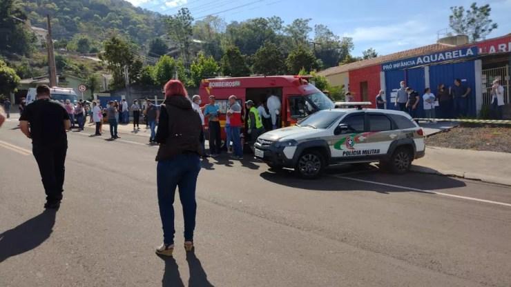 Segundo a Polícia Civil, o suspeito tem 18 anos. — Foto: Simone Fernandes/Arquivo Pessoal