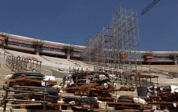 maracanã obras 09/10 (Foto: Erica Ramalho/Governo do Estado do Rio de Janeiro)