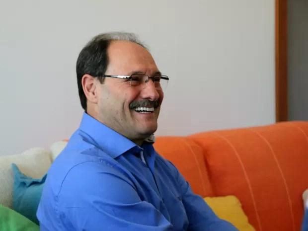 José Ivo Sartori é o candidato do PMDB para a disputa de governador do RS (Foto: Felipe Truda/G1)