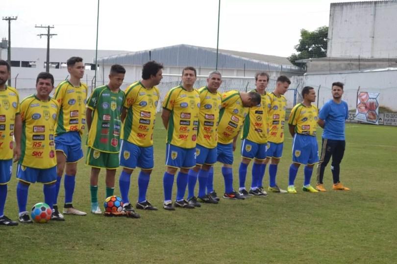 Entre os ex-jogadores que participaram estão Túlio Maravilha, Veloso e Batata (Foto: Arquivo Pessoal/Farid Ohamad Jamoul)