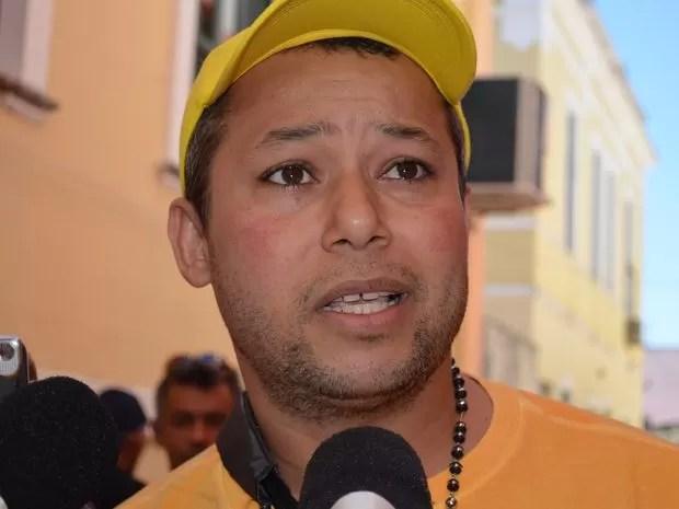 Sukita diz que mantém a candidatura a deputado estadual de Sergipe (Foto: Marina Fontenele/G1)