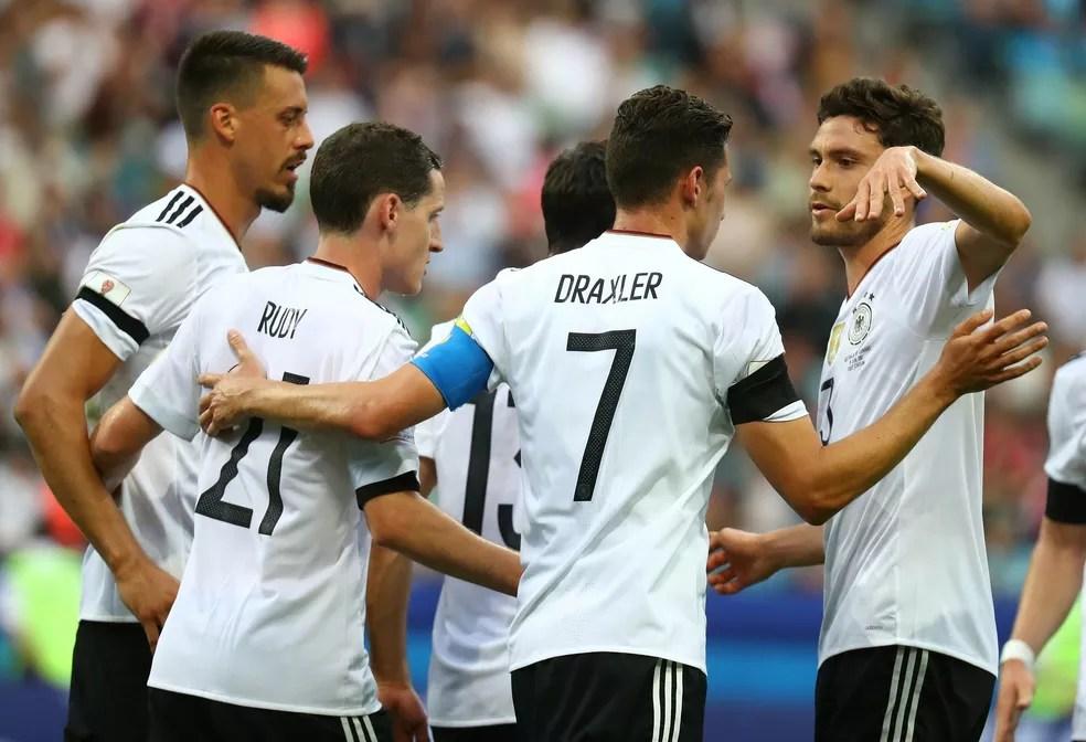 Alemanha começa a Copa das Confederações com vitória (Foto: Reuters)
