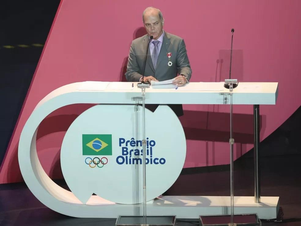 Paulo Wanderley Teixeira, presidente do COB — Foto: Ricardo Bufolin/Panamerica Press