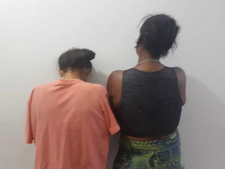 PM prende em flagrante duas mulheres por tráfico em MS — Foto: Polícia Militar/Divulgação