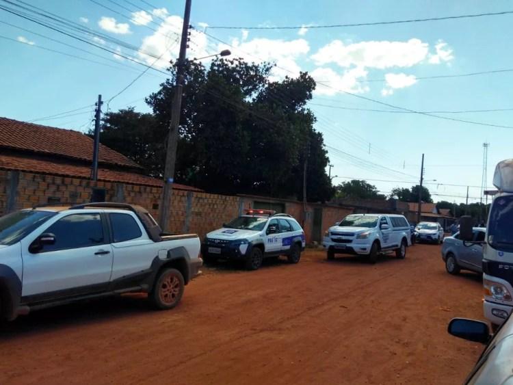 Caso foi registrado em Confresa, a 1.160 km de Cuiabá — Foto: Agência da Notícia