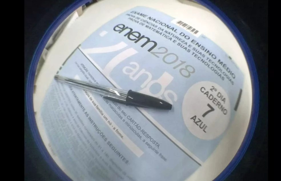 provaazul 2 - OFICIAL: veja o gabarito oficial do Enem 2018
