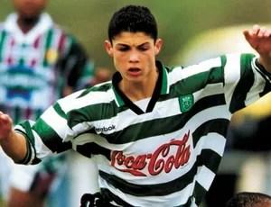 Cristiano Ronaldo especial 10 anos de carreira sporting (Foto: Reprodução)