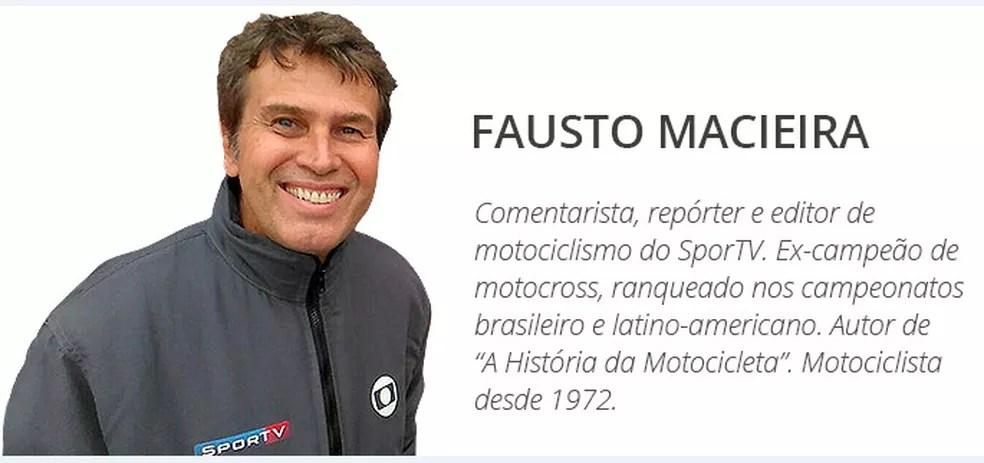 Fausto Macieira — Foto: Divulgação