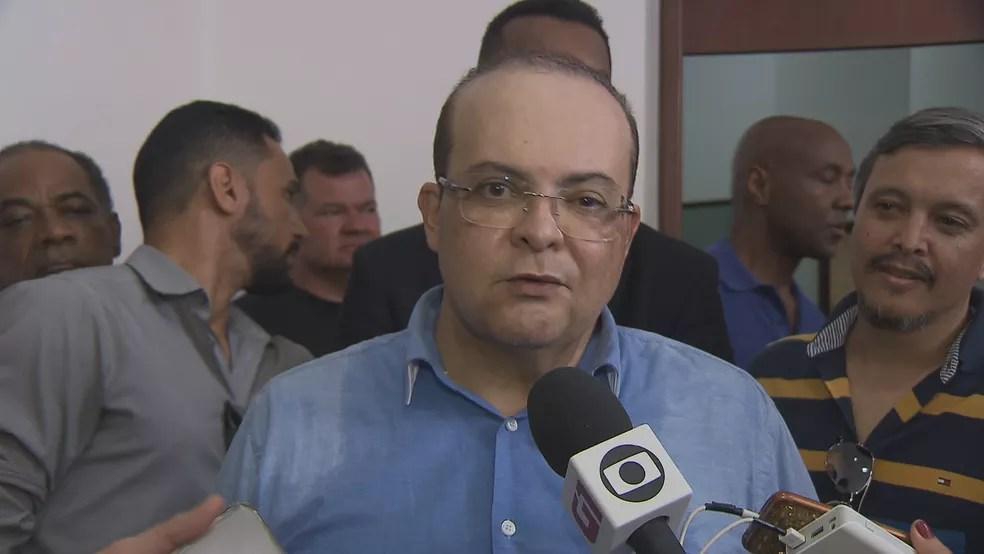 MDB lança o advogado Ibaneis Rocha ao governo do DF (Foto: TV Globo/Reprodução)