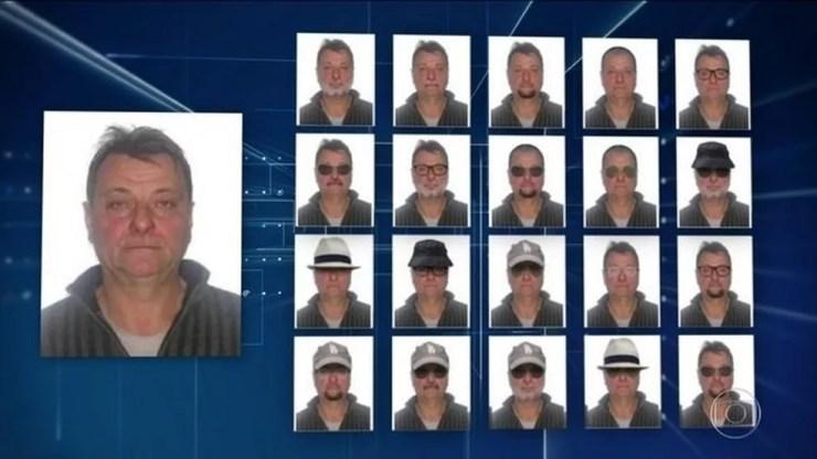 Cesare Battisti teve o nome incluído em lista da Interpol — Foto: Reprodução/JN