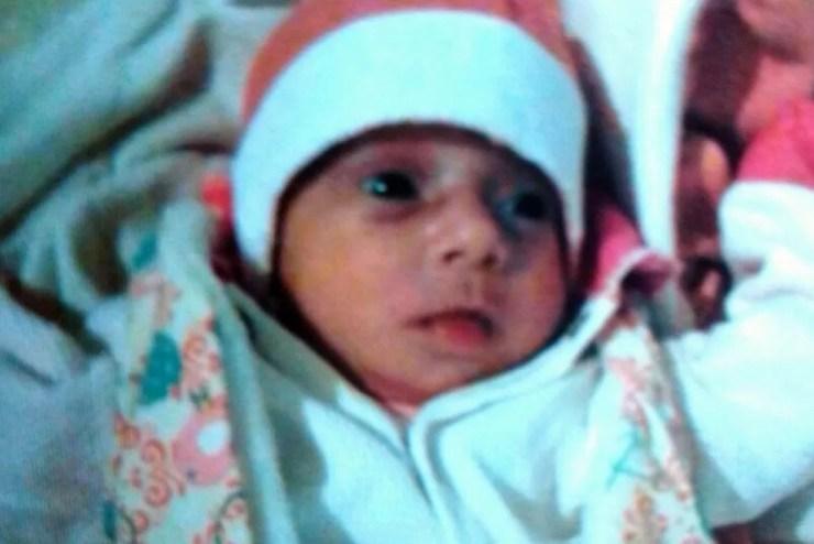 Bebê foi roubado de dentro de casa em Cabo Verde (Foto: Redes Sociais )