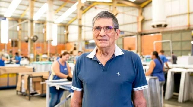 Mario Luiz de Souza fundou a Secalux em 1986 (Foto: Divulgação)