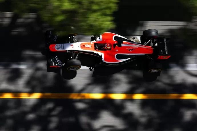 Jules Bianchi conquista primeiros pontos da história da Marussia, em Mônaco (Foto: Getty Images)