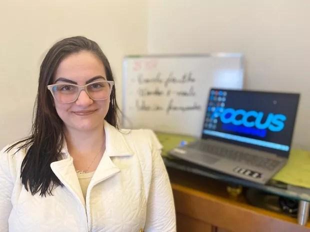 Karla Diebe, fundadora da Foccus Cegonhas (Foto: Divulgação)