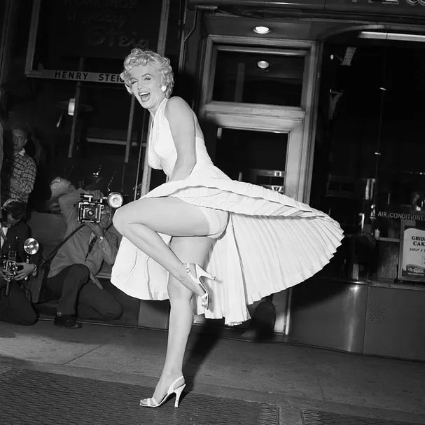 """Marilyn Monroe at """"Sin Lives Next Door"""" (Photo: Getty Images)"""
